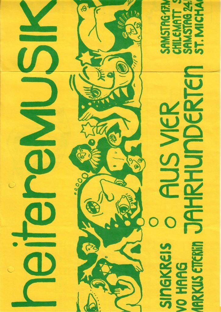1990: heiter