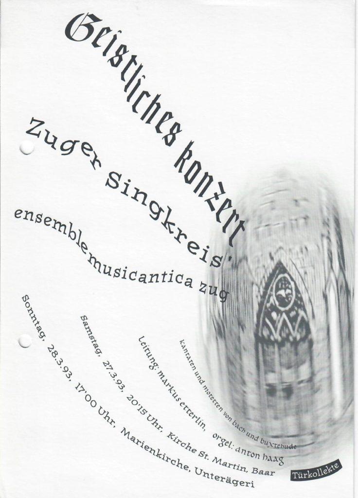 1993: Barock