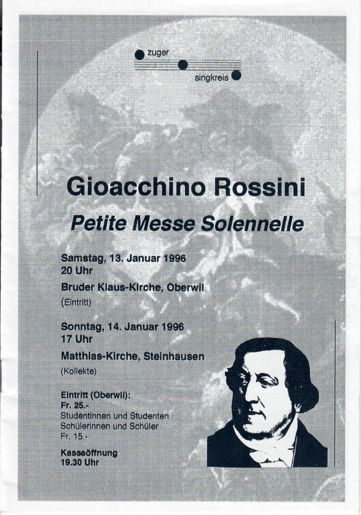 1996: Rossini