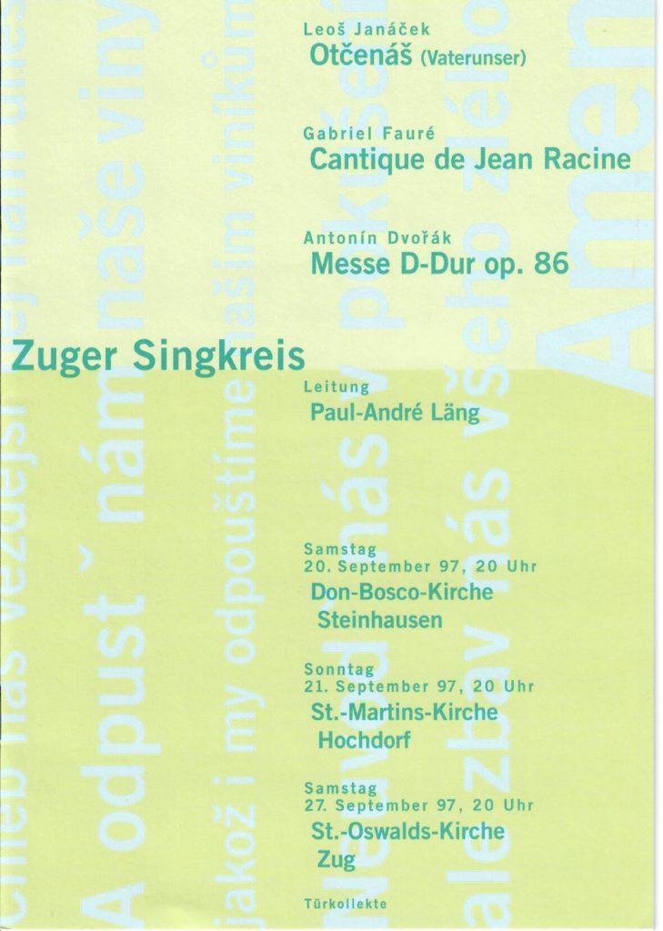 1997: Dvorak