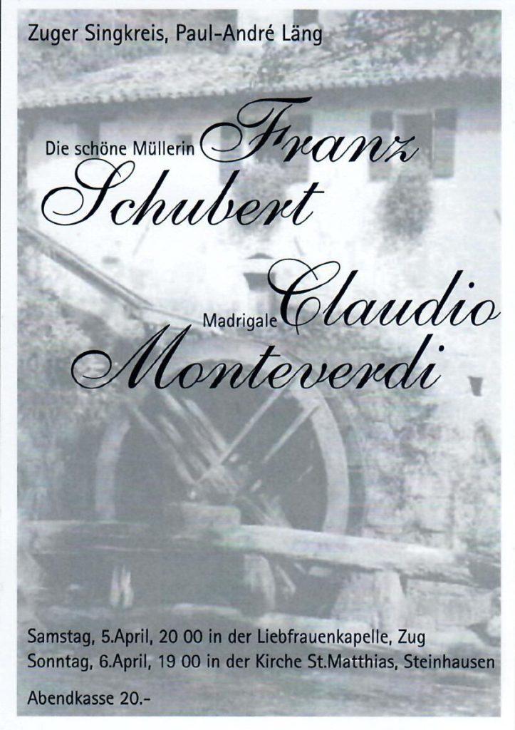 2008: Schubert