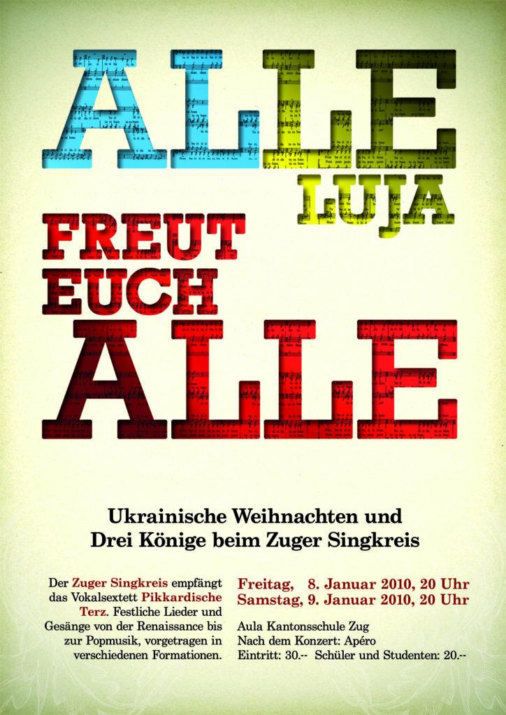 2010: Alleluja