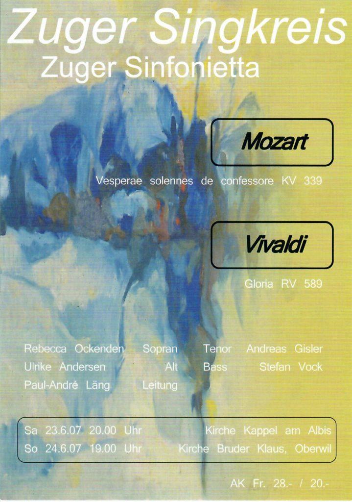 2007: Mozart Vivaldi