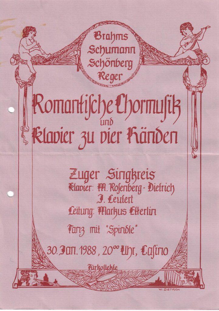 1988: Romantisch