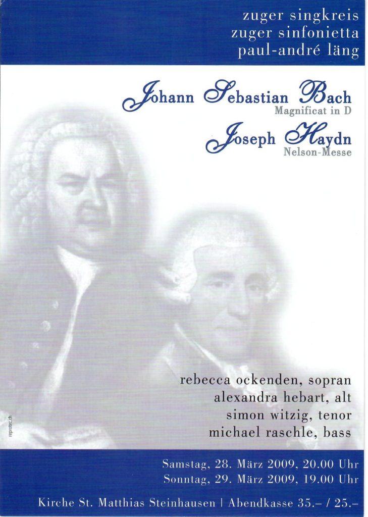 2009: Bach, Haydn